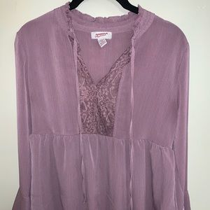 Light purple blouse